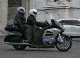 Se déplacer en taxi moto